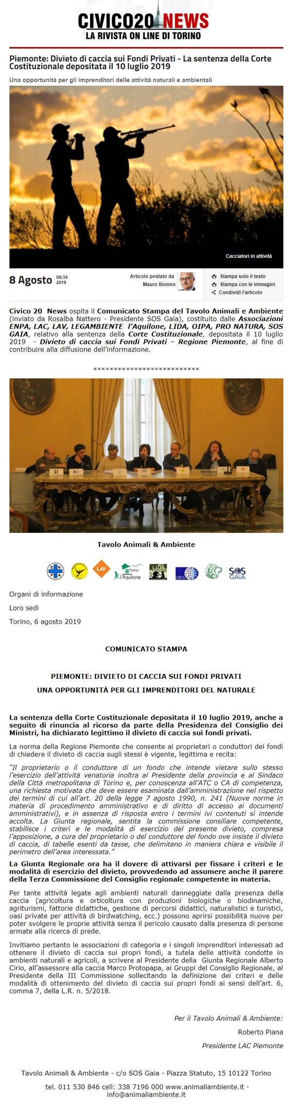 civico20-news-08-08-2019-Divieto-di-caccia-sui-fondi-privati