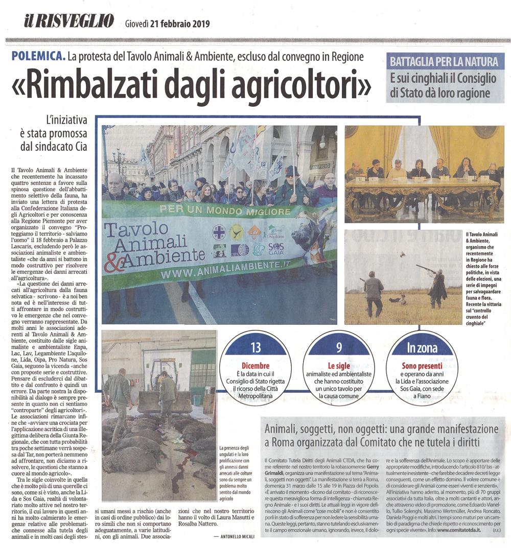 il-risveglio-21-02-2019-protesta-convegno-agricoltori