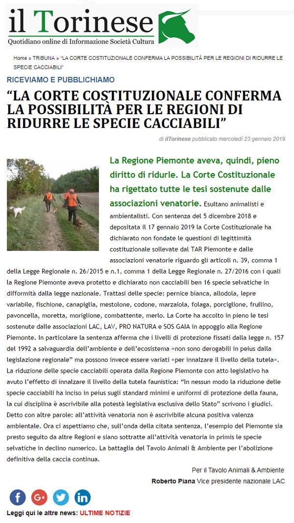 il-torinese-23-01-2019-corte-costituzionale-specie-cacciabili